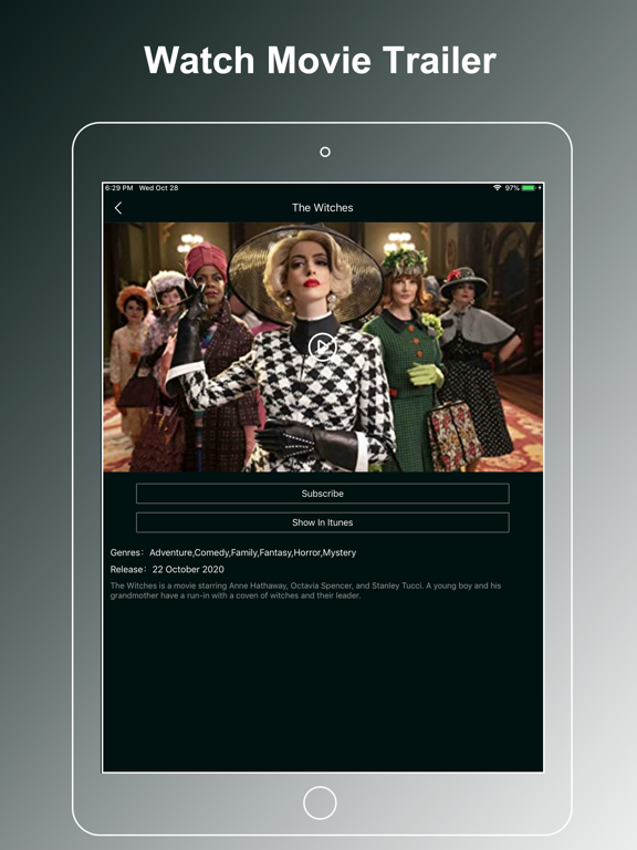 iPad Image of Movzy - Movies, Music for You
