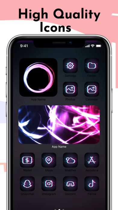 IconKit: Icon Themes Custom 14のおすすめ画像4