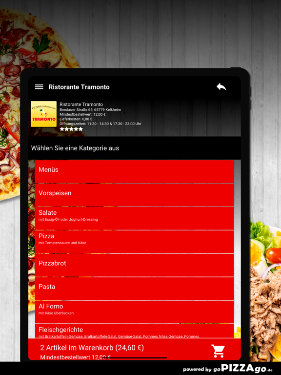 Ristorante Tramonto Kelkheim screenshot 8