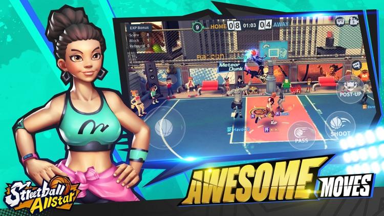 Streetball Allstar:3v3 eSports screenshot-5
