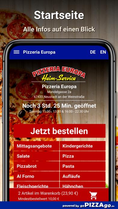 Pizzeria Europa Neustadt screenshot 2