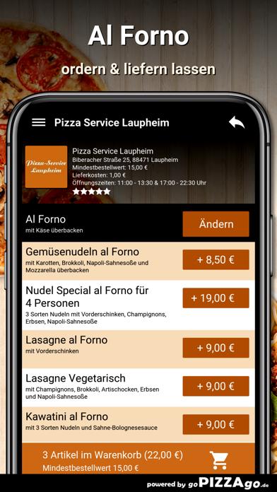 Pizza Service Laupheim screenshot 3