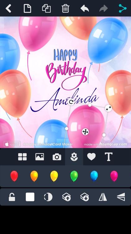 Happy Birthday Card Maker screenshot-4