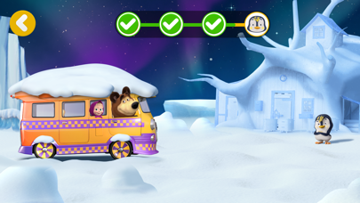 Masha and the Bear Pizzeria! Screenshot on iOS