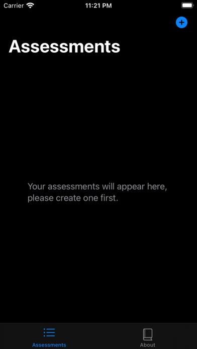 Self Analysis screenshot 1