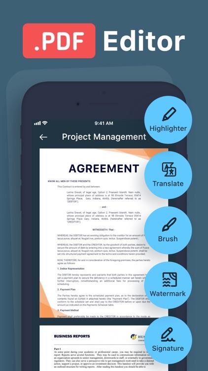 Scanner+ PDF Edit & Translate screenshot-3