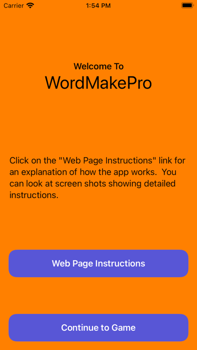 WordMakePro Screenshot