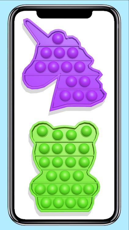 Pop it fidget toy calming Game screenshot-3