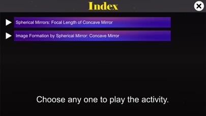 Concave mirror properties screenshot 1