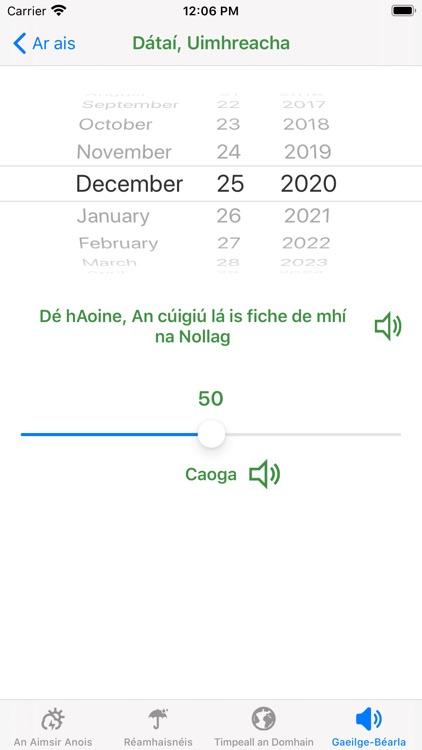 Aimsir - The Weather in Irish screenshot-7