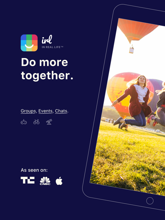 iPad Image of IRL - Do More Together