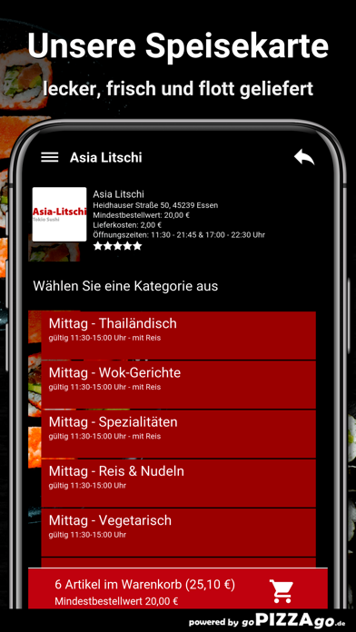 Asia Litschi Essen screenshot 4