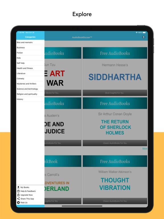 AudioBookBazaar screenshot 9