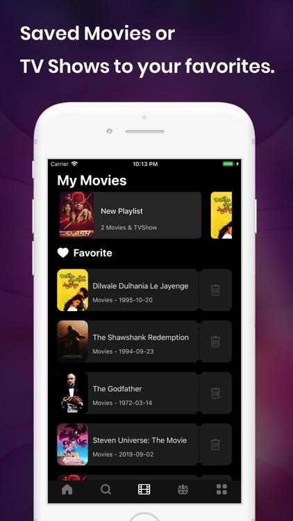 Movie Box & TV Shows Tracker screenshot-4