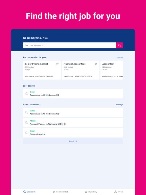 SEEK - Job Search screenshot