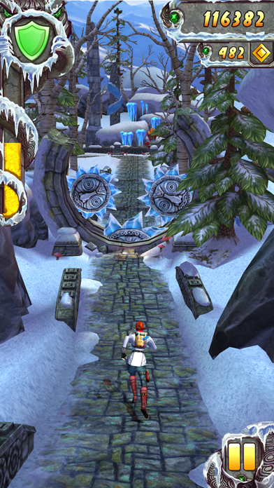 Screenshot from Temple Run 2