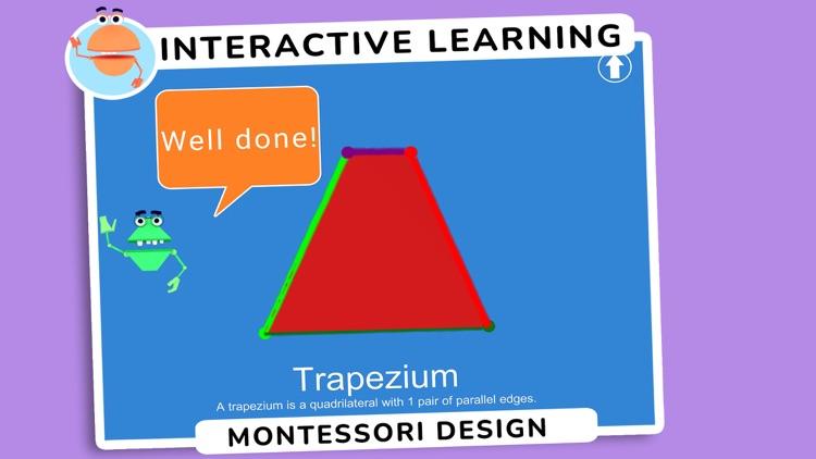 Montessori Draw Shapes