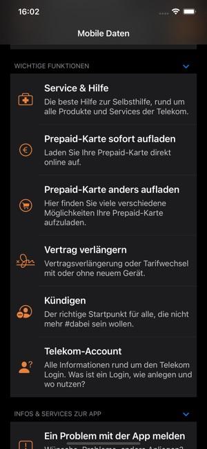Mobile Daten Widget On The App Store