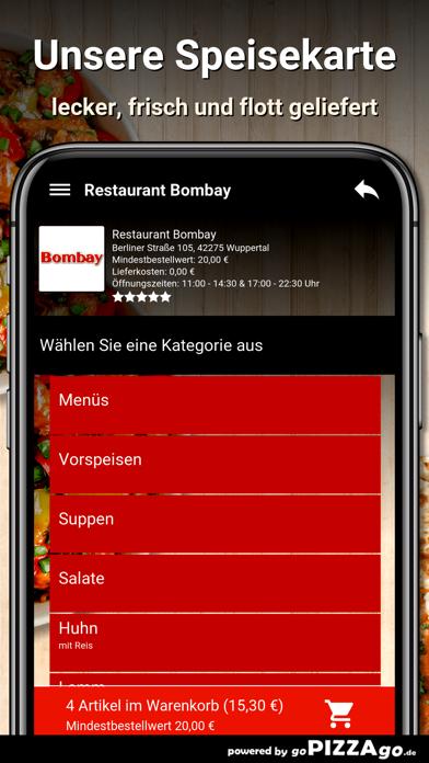 Restaurant Bombay Wuppertal screenshot 4