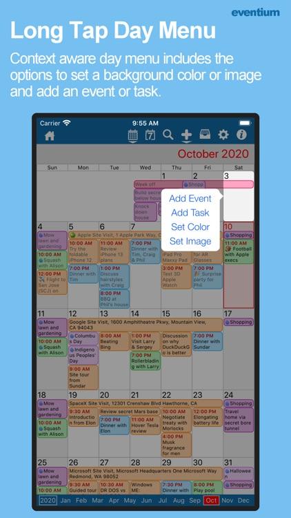 Eventium: Calendars & Events screenshot-4