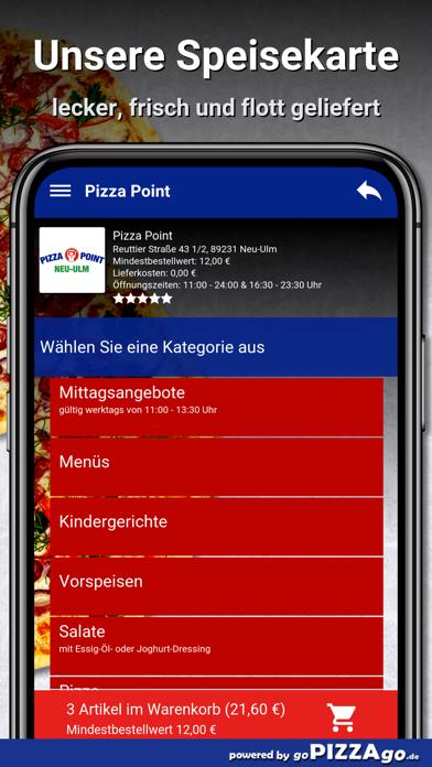 Point Neu-Ulm Pizza screenshot 4
