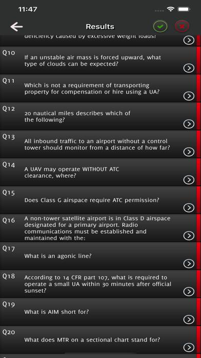 Remote Pilot Exam Drone FAA screenshot 5