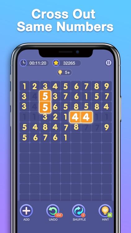 Match Ten - Number Puzzle