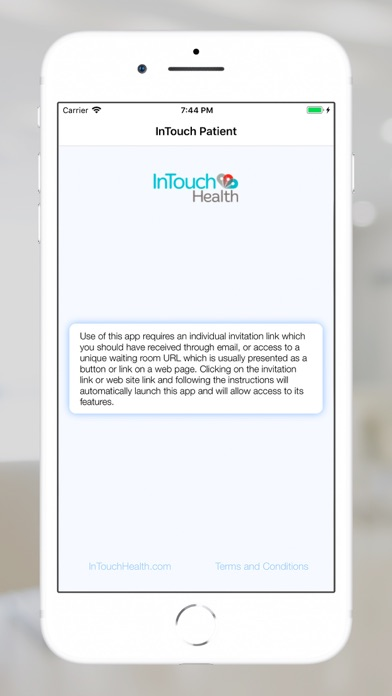 cancel InTouch Patient subscription image 2