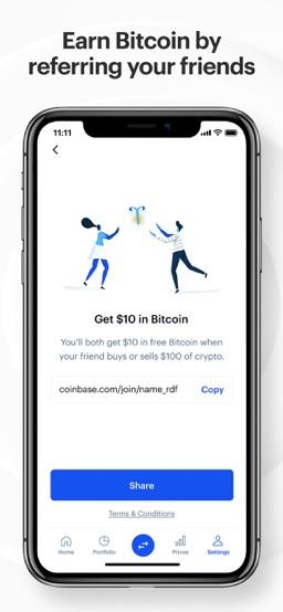 Coinbase – Buy & sell Bitcoin app screenshot