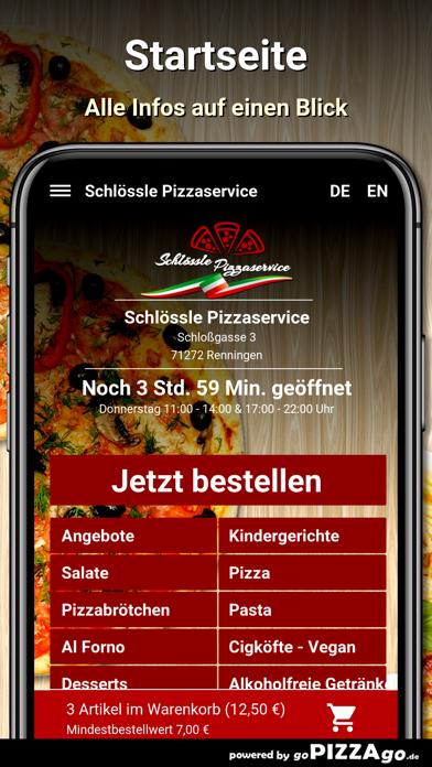 Schlössle Pizzaservice screenshot 2