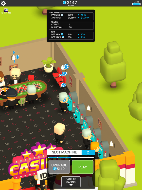 Casino Idle Tycoon Magnate screenshot 10