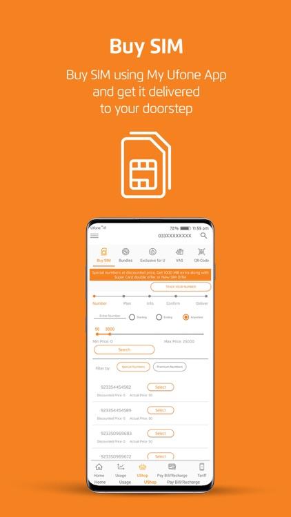 My Ufone - یوفون screenshot-3