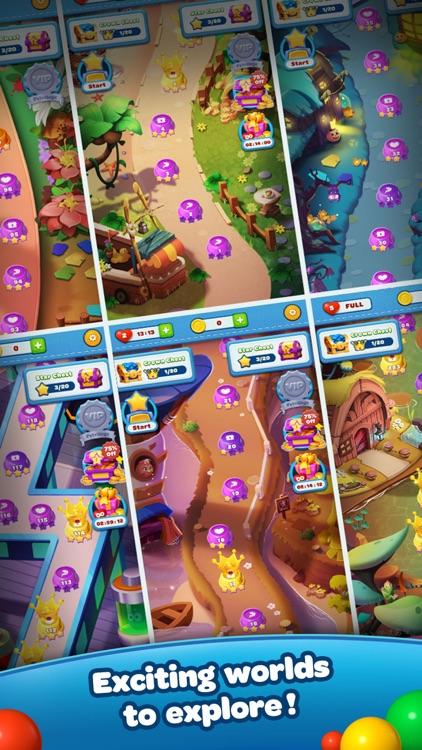Bubble Shooter Birdpapa Pop screenshot-4