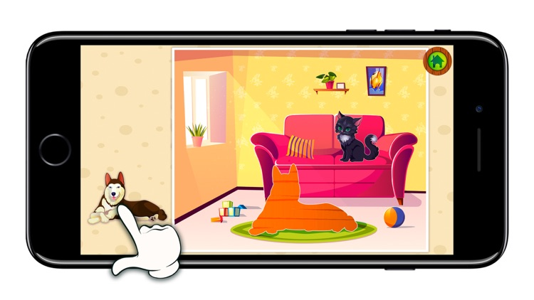 KidsDi: Pets puzzle screenshot-3