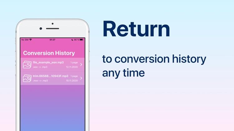 Audio Converter: convert mp3 screenshot-3