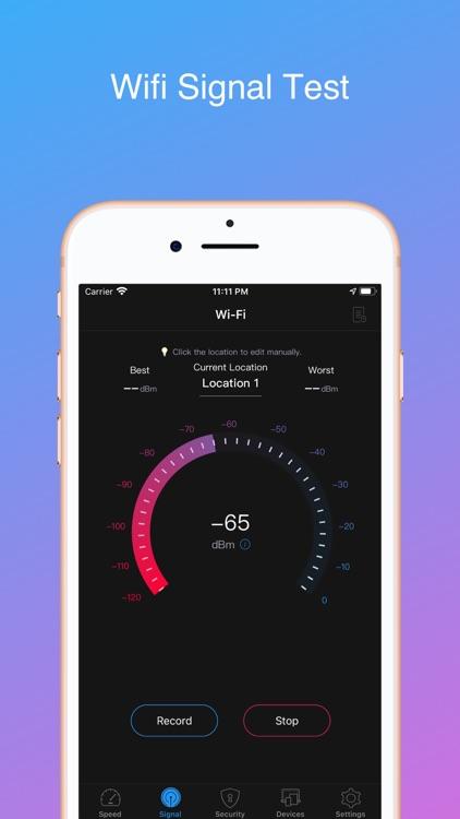 Oka Wifi - speed & signal test