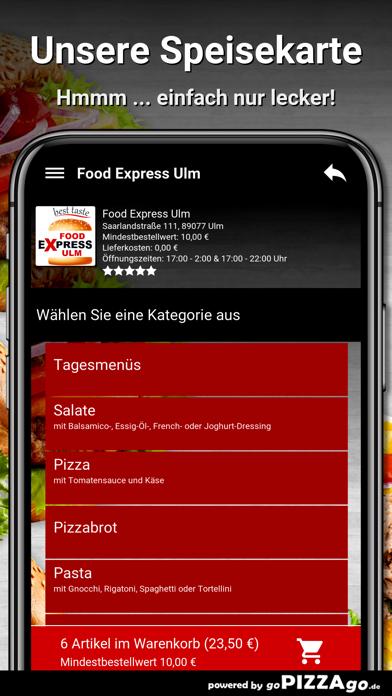 Food Express Ulm Ulm screenshot 4