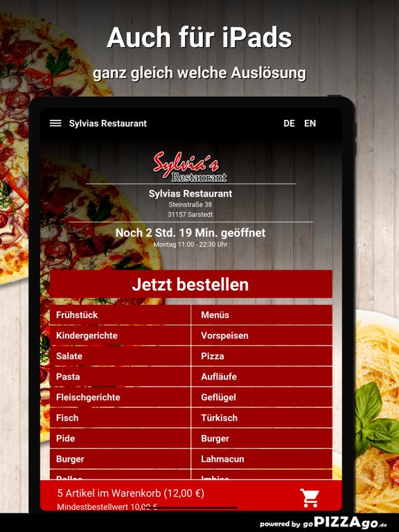 Sylvias Restaurant Sarstedt screenshot 7