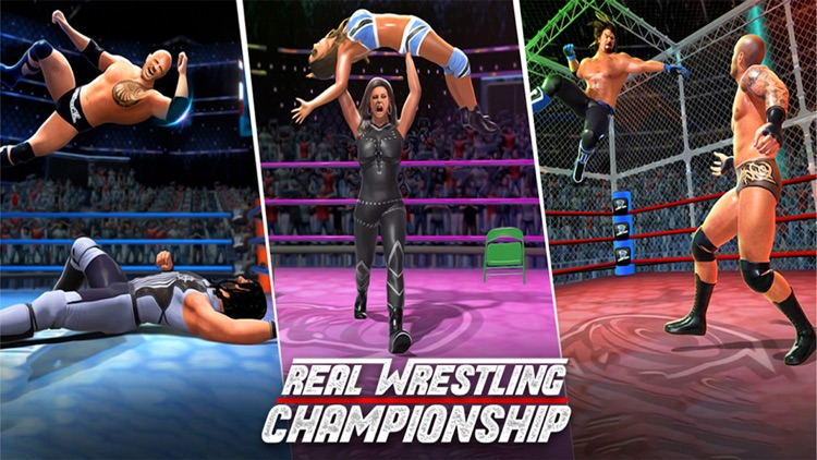 Real Wrestling Fight screenshot-3