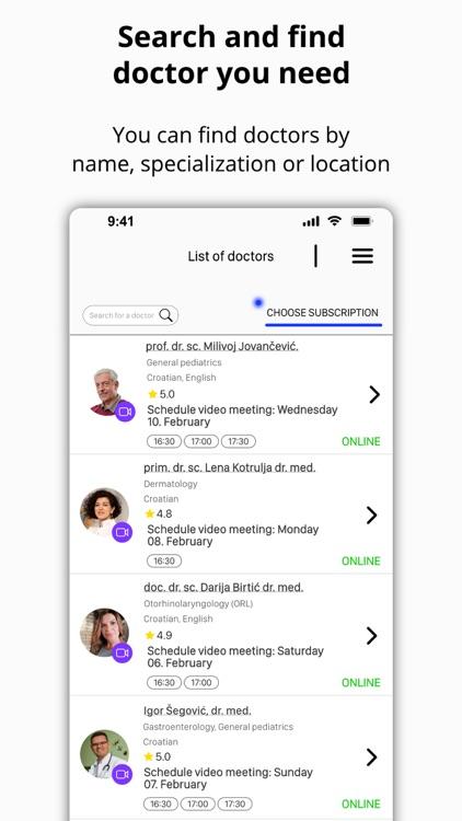 LittleDot online consultations