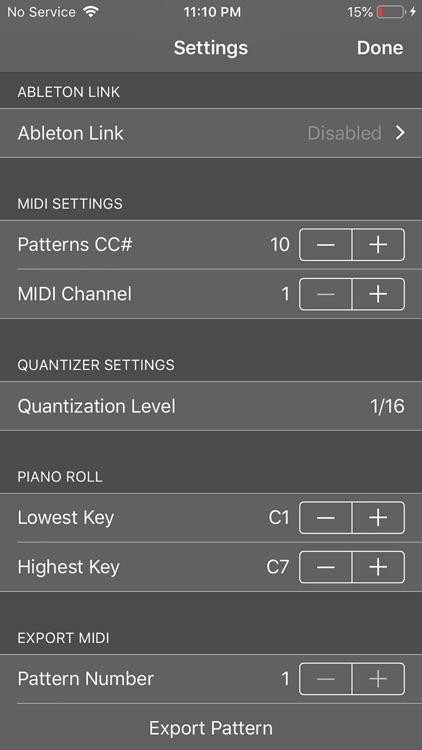 LoopBud - AUv3 MIDI Recorder screenshot-4