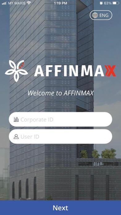 AFFINMAX Mobile Screenshot