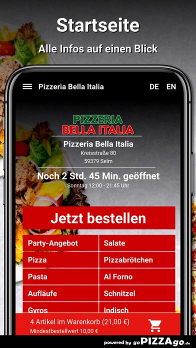 Pizzeria Bella Italia Selm screenshot 2