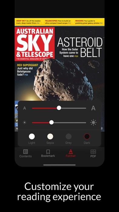 Australian Sky and TelescopeScreenshot of 5