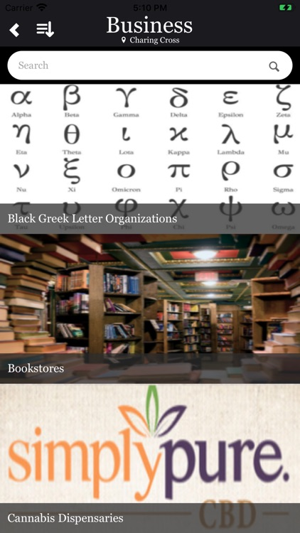Black Rolodex. screenshot-3