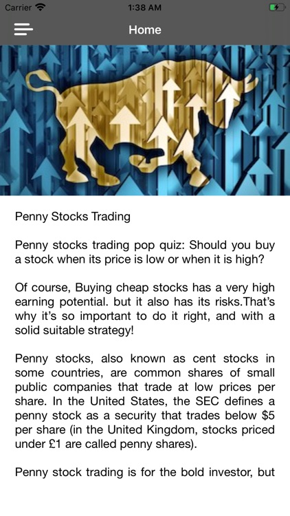 Penny Stocks Investing Course