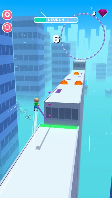 Roof Jumper 3D screenshot 1