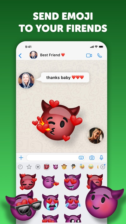 Emoji up: emoji maker stickers