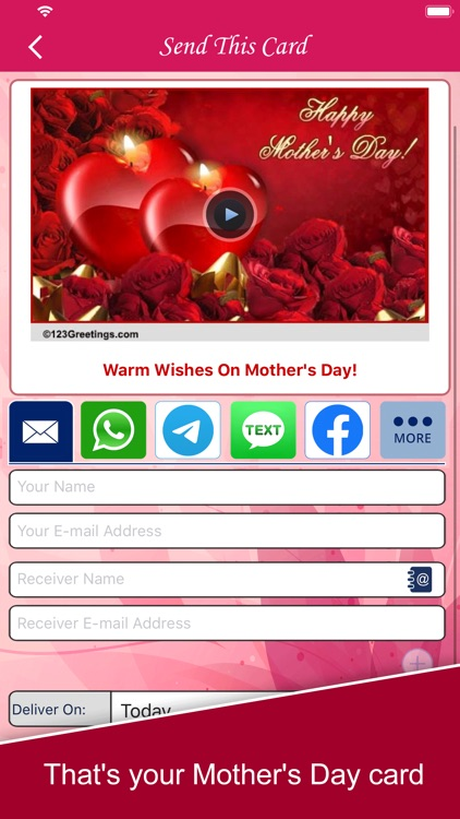 Mother's Day eCards & wishes