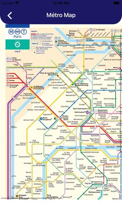Paris Metro Routes and Map screenshot-3